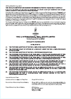 Circular to Shareholders